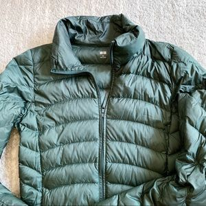 Jackets & Blazers - Uniqlo Forest Green Puff Jacket